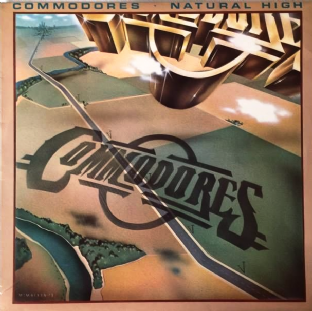 Commodores - Natural High (LP) (VG+/VG-)